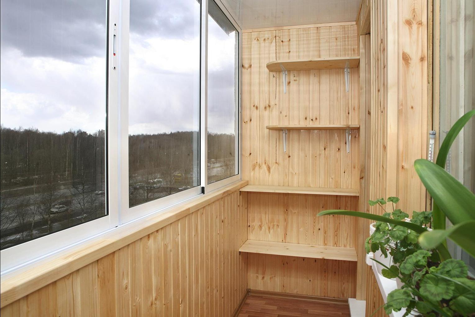 Утепление маленьких балконов.